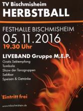 Herbstball des Turnvereins am 05.11.2016